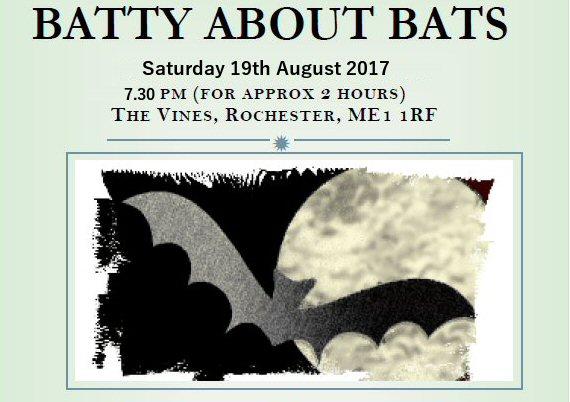Batty About Bats 19th Aug2017